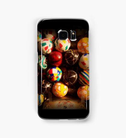 Gumball Machine in Shadow - Series - Hi-Bounce Balls - Iconic New York City Samsung Galaxy Case/Skin