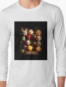 Gumball Machine in Shadow - Series - Hi-Bounce Balls - Iconic New York City Long Sleeve T-Shirt