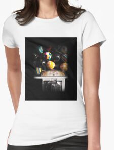 Gumball Memories in Silver - Series - Iconic New York City Womens Fitted T-Shirt