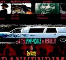 Frankenpimp (2009 ) - 'Original Worldwide Movie Poster' Sticker