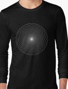 Fibonacci Flower Long Sleeve T-Shirt