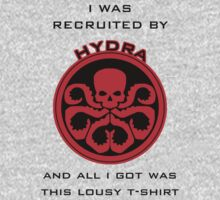 Agents of S.H.I.E.L.D > Ward's HYDRA t-shirt by bananana