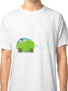 Green Car Graphic Classic T-Shirt
