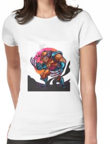 Claws Womens Fitted T-Shirt