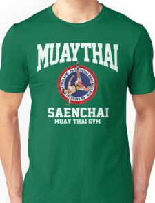 CARTWHEEL KICK PK SAENCHAI MUAY THAI BOXING GYM LUMPINEE CHAMPION  Unisex T-Shirt