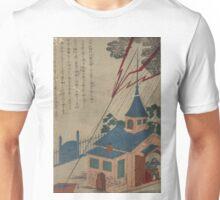 Benjamin Franklin and lightning - Anon - 1868 Unisex T-Shirt