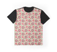 United Kingdom flag, coat of arms, seamless pattern Graphic T-Shirt