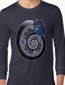 The Twelfth Doctor - time spiral Long Sleeve T-Shirt