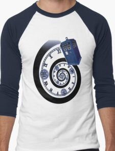 The Twelfth Doctor - time spiral Men's Baseball ¾ T-Shirt