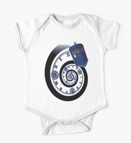 The Twelfth Doctor - time spiral One Piece - Short Sleeve