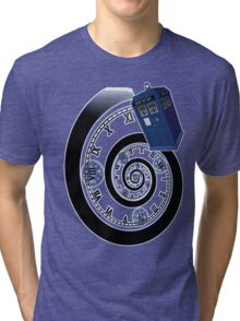 The Twelfth Doctor - time spiral Tri-blend T-Shirt