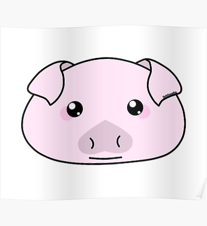 Oink oink little piggy - Farm animals collection Poster