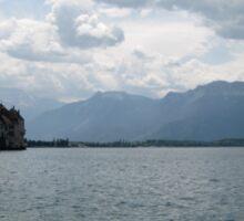 Castillo del lago Sticker