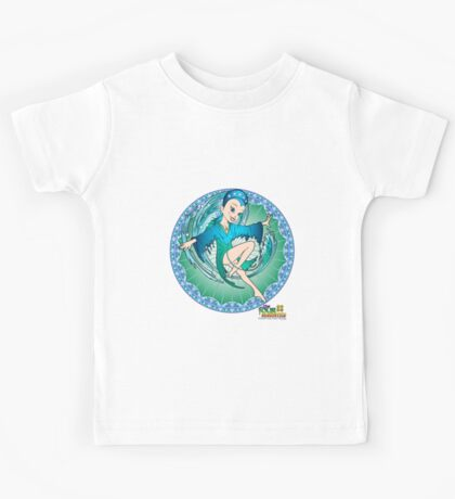 The Four Elements - Water Kids Tee