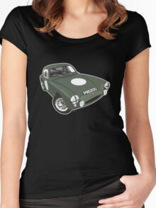 Austin Healey Sebring Sprite PMO200 Women's Fitted Scoop T-Shirt
