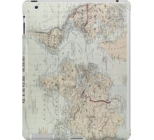 Vintage Map of The World (1875)  iPad Case/Skin