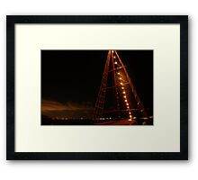 Mexican sailboat Framed Print