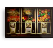 Gumballs All In A Row - Series - Iconic New York City Metal Print