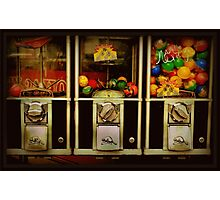 Gumballs All In A Row - Series - Iconic New York City Photographic Print
