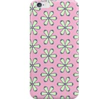 Bright Pink Flowers iPhone Case/Skin