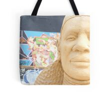 An African in Brighton Tote Bag