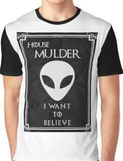 House Mulder Graphic T-Shirt