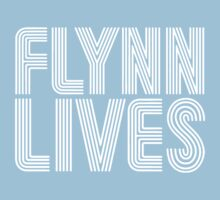 FLYNN LIVES - TRON MOVIE Baby Tee