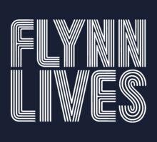 FLYNN LIVES - TRON MOVIE Kids Tee
