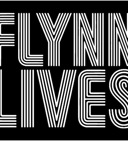 FLYNN LIVES - TRON MOVIE Sticker