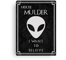 House Mulder Canvas Print