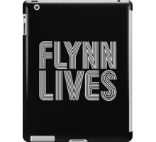 FLYNN LIVES - TRON MOVIE iPad Case/Skin
