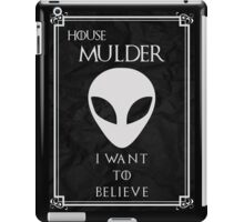House Mulder iPad Case/Skin