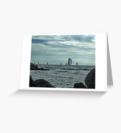 Afternoon Sail Greeting Card