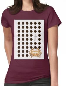 Crab a hold of me Womens Fitted T-Shirt
