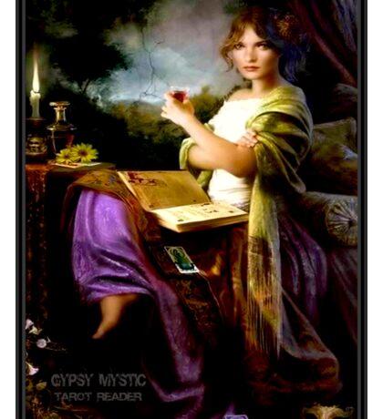 GYPSY MYSTIC; Tarot Reader Advertising Print Sticker