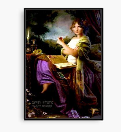 GYPSY MYSTIC; Tarot Reader Advertising Print Canvas Print