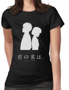 Kimi No Na Wa (Dark) Womens Fitted T-Shirt