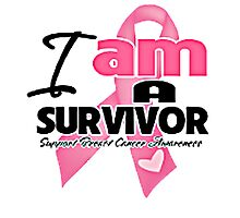 I AM A SURVIVOR Photographic Print