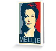 """ I will make such a scene ! "" - Mellie Grant * laptop skins, and mugs added * Greeting Card"