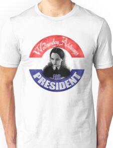 Wednesday For President Unisex T-Shirt