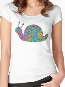 After The Rain Women's Fitted Scoop T-Shirt
