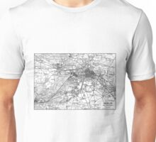 Berlin and Surrounding Areas Map (1911)  Unisex T-Shirt