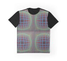optical spheric pattern Graphic T-Shirt