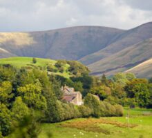 House in the Yorkshire Dales  Sticker