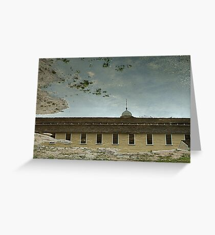 Reflection of Glory Greeting Card