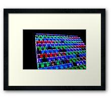 Psychedelic Abode Framed Print