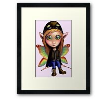Fairy Aviator Framed Print