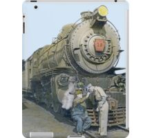 Pennsylvania Railroad Smokers, circa 1940 iPad Case/Skin