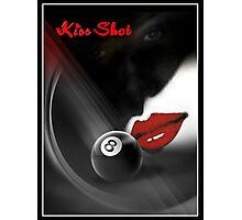Kiss Shot Photographic Print