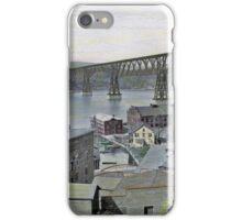 Poughkeepsie Railway Bridge, 1927 iPhone Case/Skin